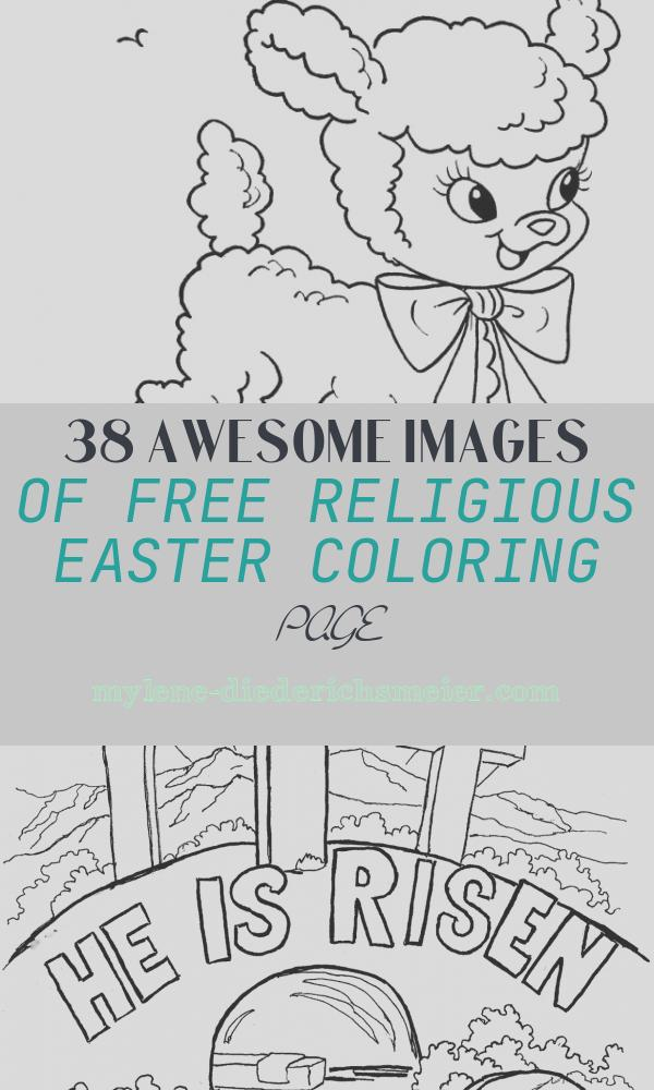 Free Religious Easter Coloring Page Lovely Free Printable Easter Coloring Pages