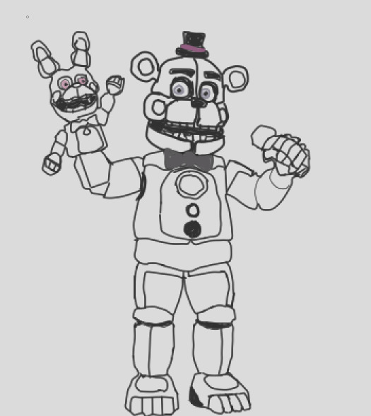 Funtime Freddy NO COLOR