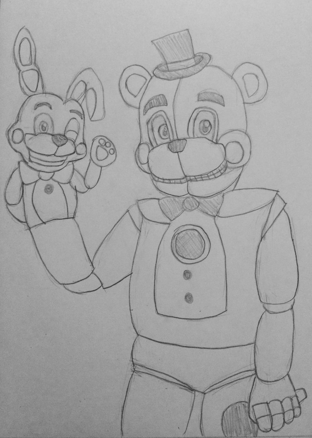 funtimme foxy and funtime freddy