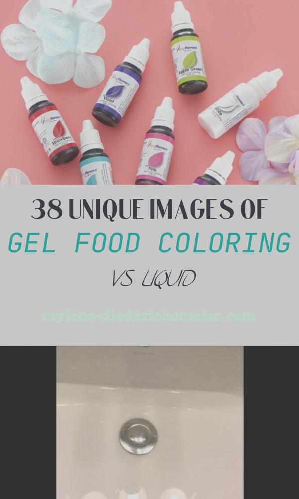 Gel Food Coloring Vs Liquid Awesome Gel Food Coloring Vs Liquid Food Coloring