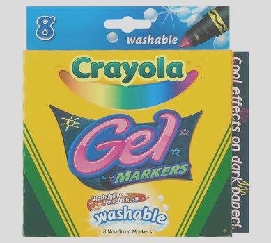 gel washable markers 8 ct
