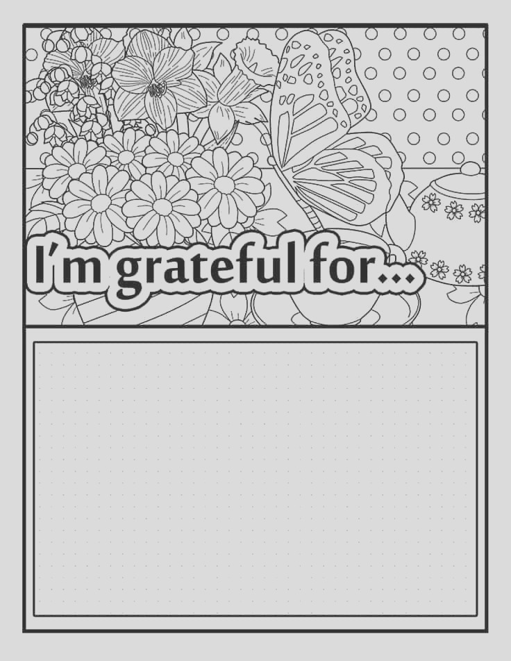 free printable coloring planner may