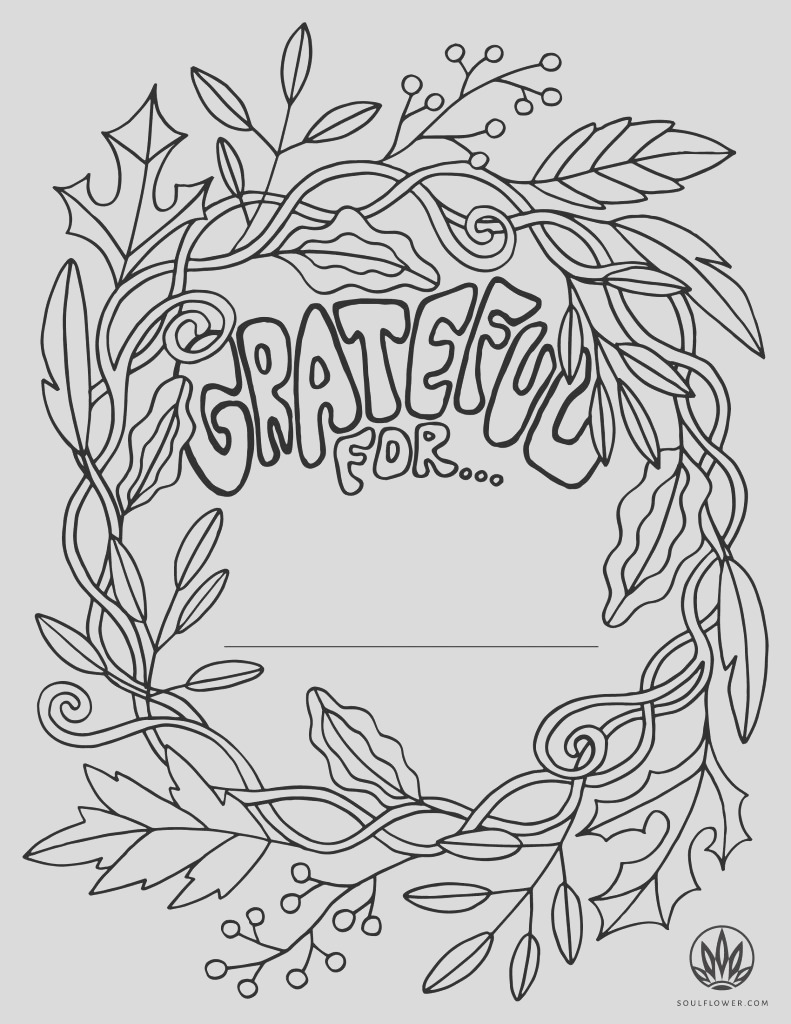 free thanksgiving coloring pages for children gratitude