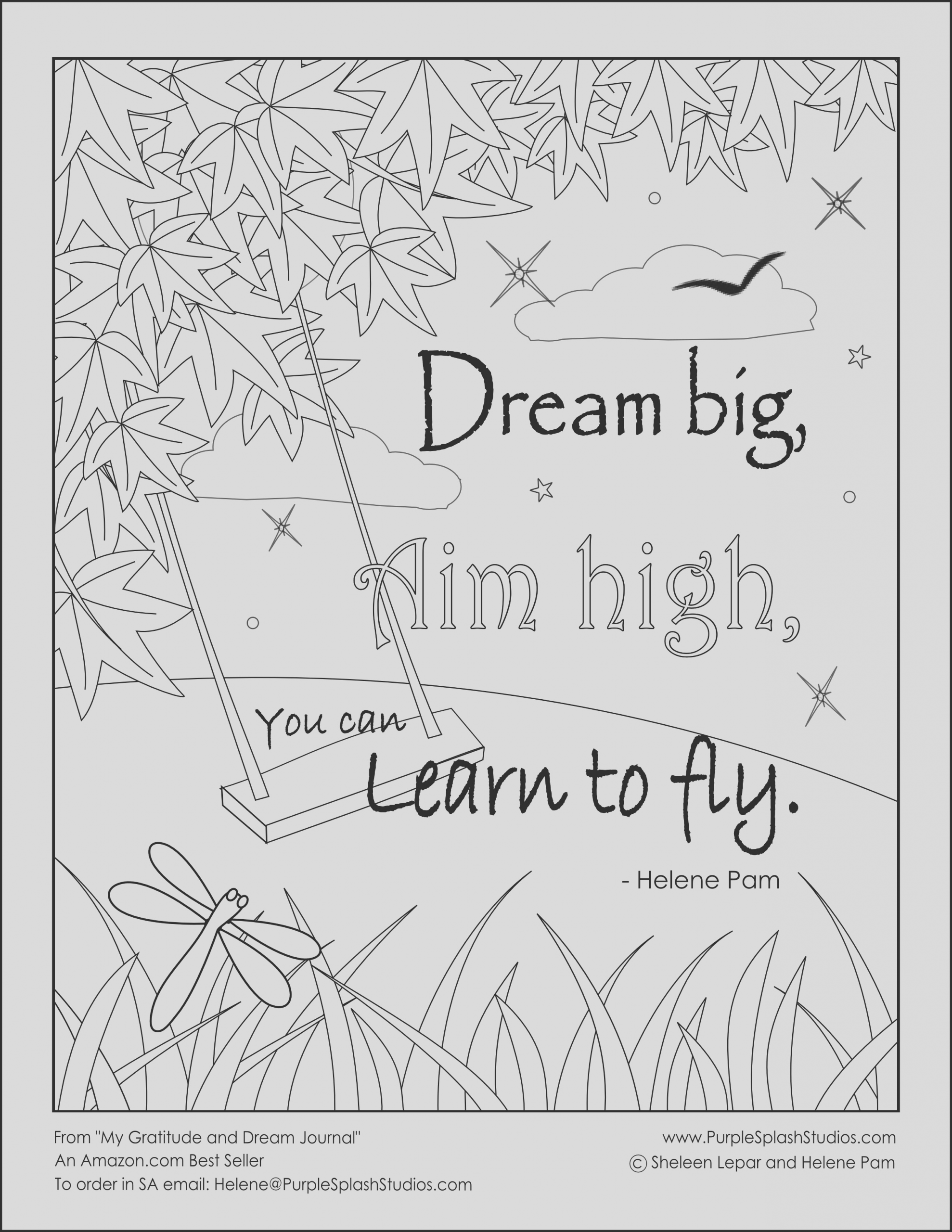 gratitude coloring pages