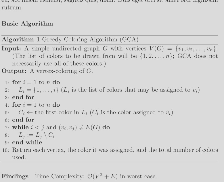 ordering is not maintained in latex after build