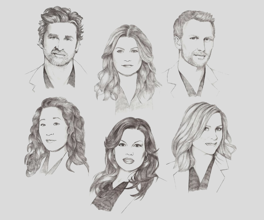 greys anatomy coloring pages sketch templates