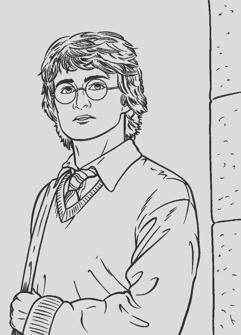 harry potter coloring pages