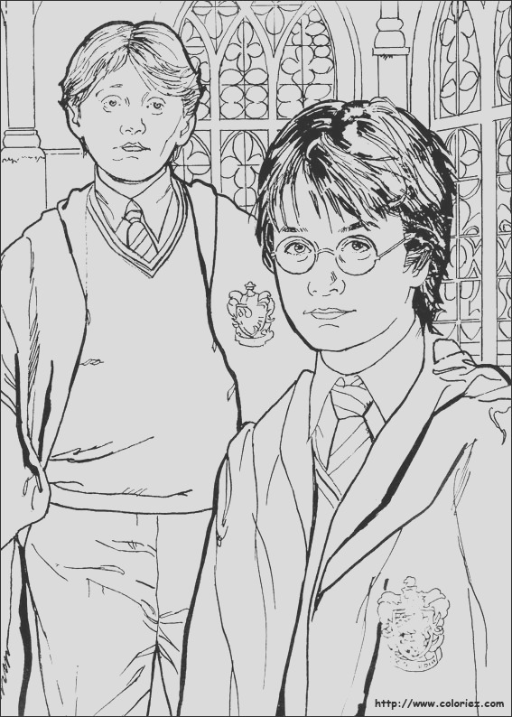 image=harry potter Coloring for kids harry potter 1