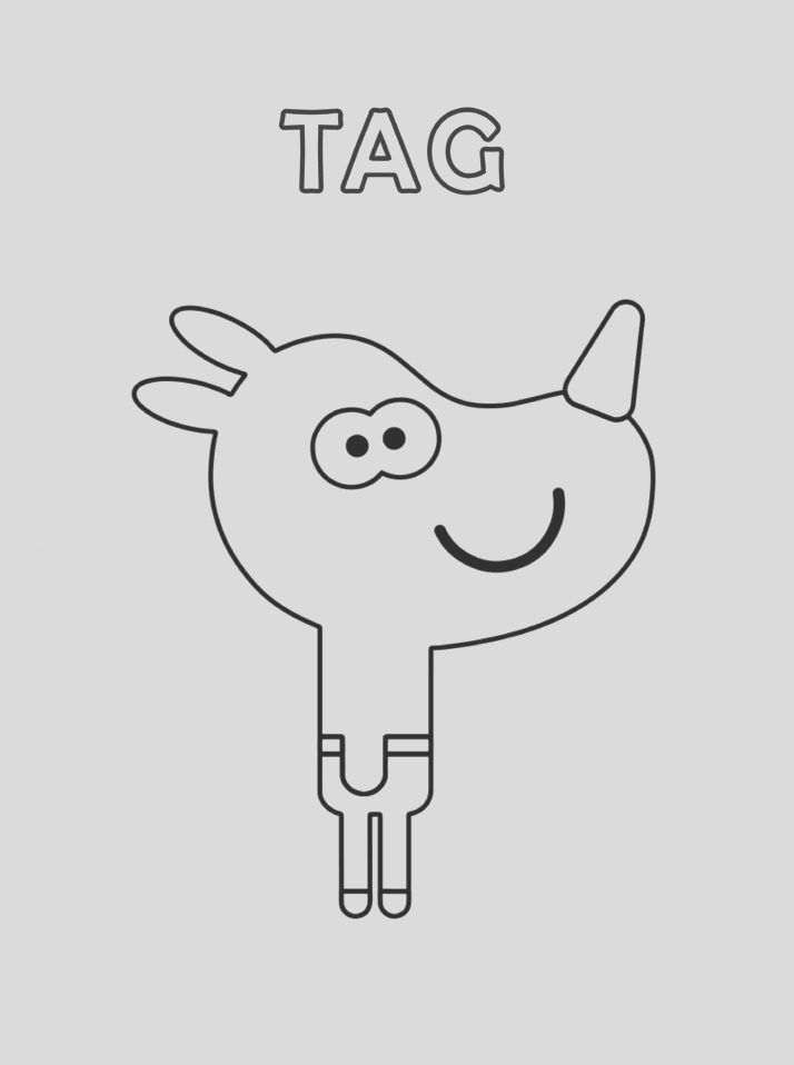 Tag from Hey Duggee