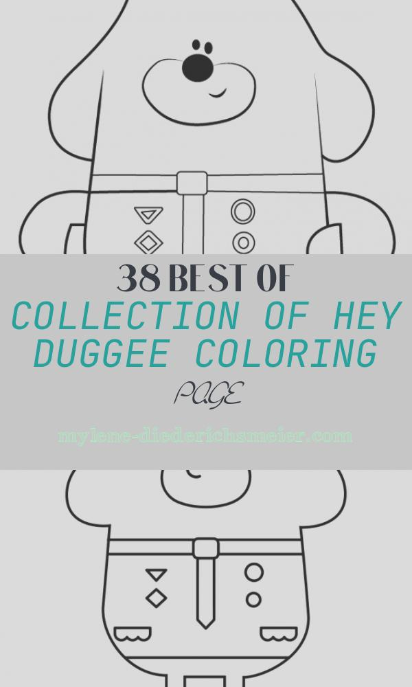 Hey Duggee Coloring Page New Learn How to Draw Duggee From Hey Duggee Hey Duggee Step