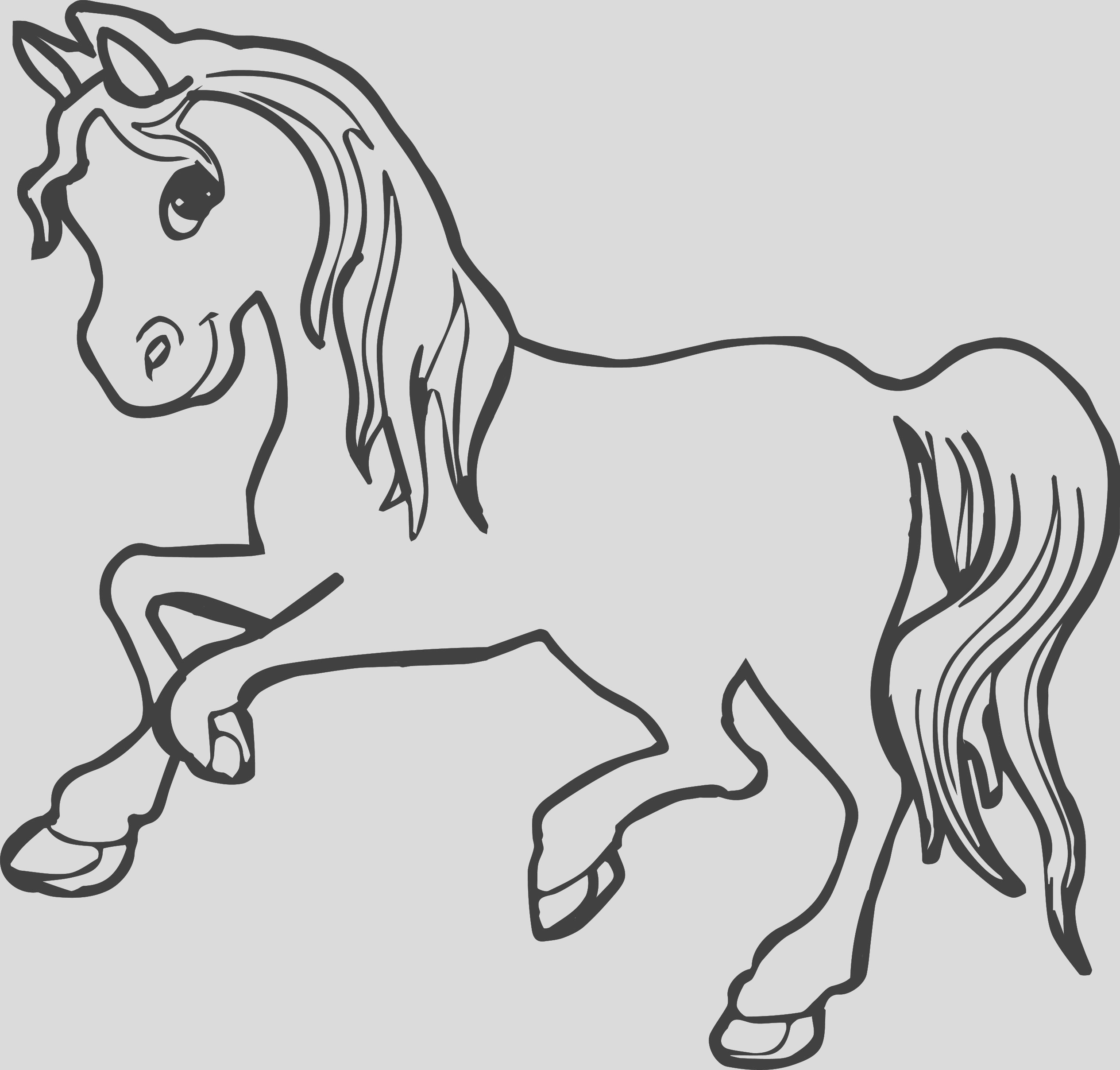 30 best horse coloring pages ideas
