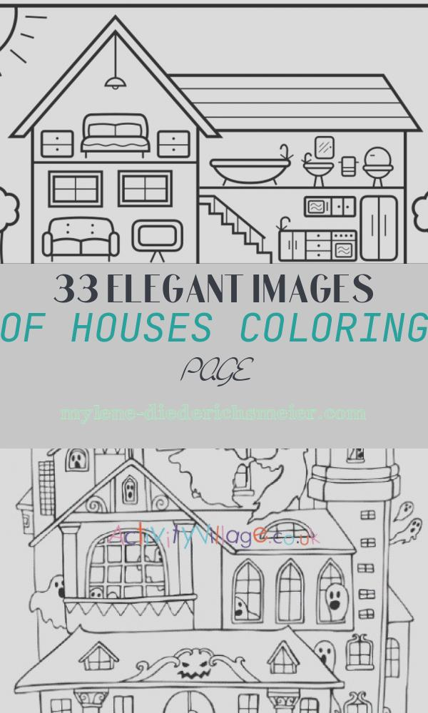 Houses Coloring Page Fresh How to Draw A Cute House with A Garden for Kids ????cute