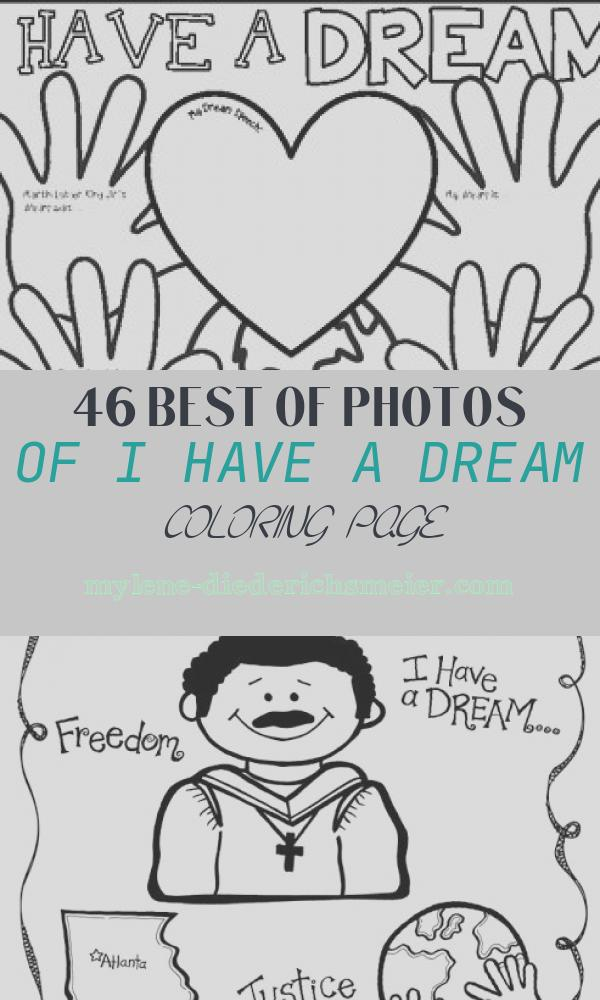 I Have A Dream Coloring Page Inspirational Mlk Day Coloring Pages with Short Writing Prompts