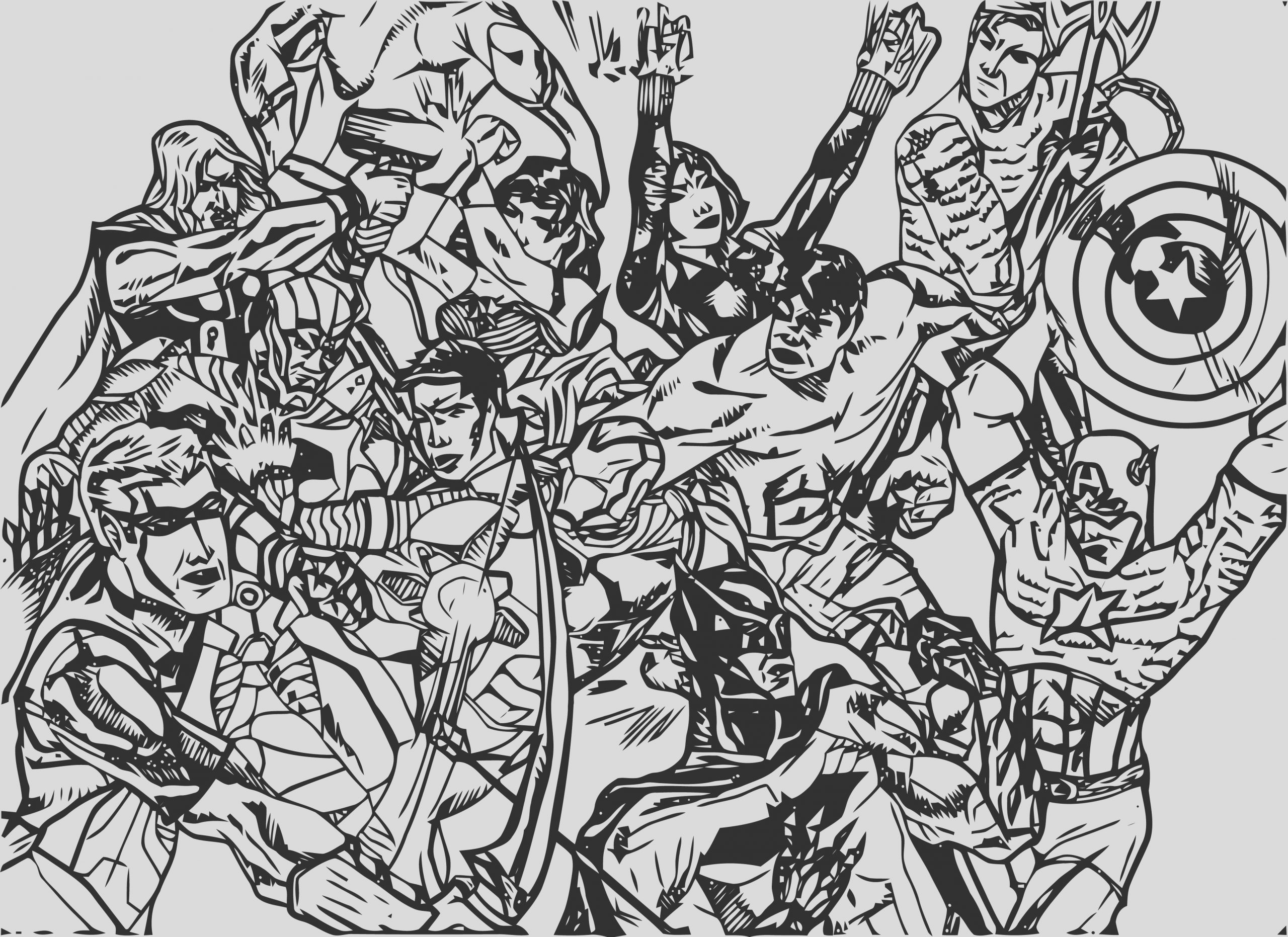 justice league coloring page wecoloringpage 86
