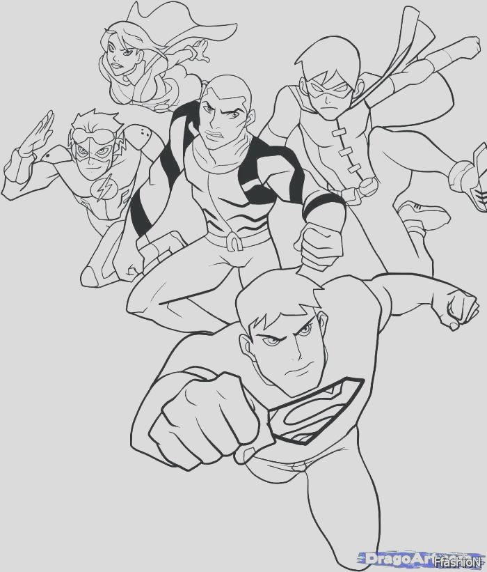 lego justice league coloring pages