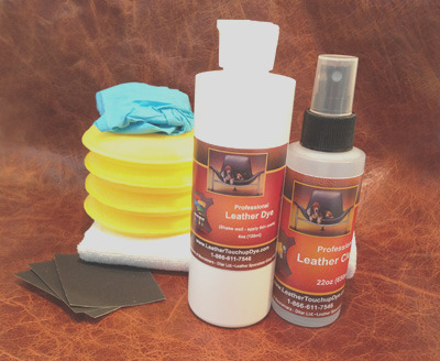 fast fix leather dye repair kit large