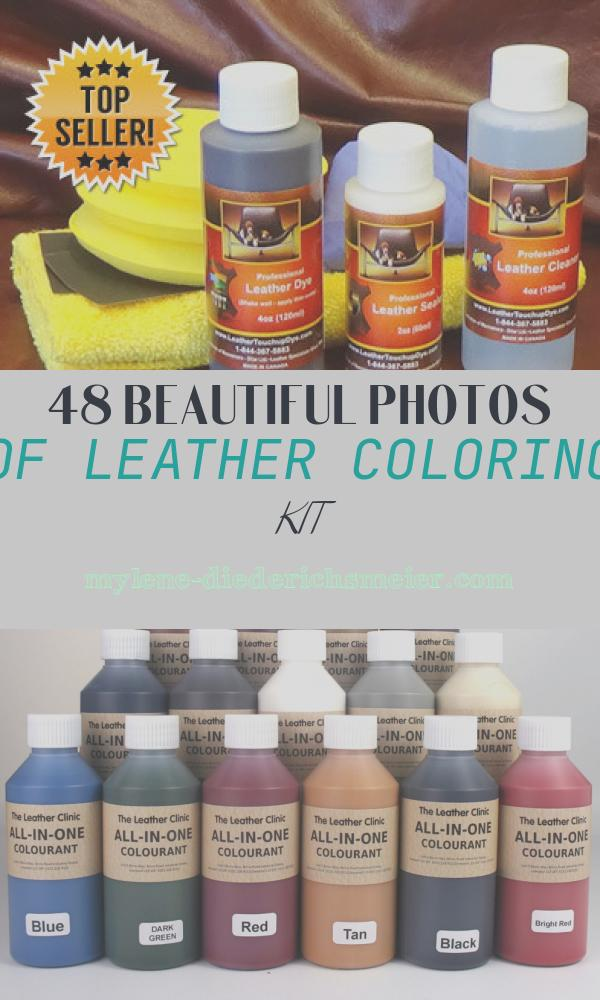 Leather Coloring Kit Inspirational Leather Dye Repair Kit Medium 4oz Leathertouchupdye