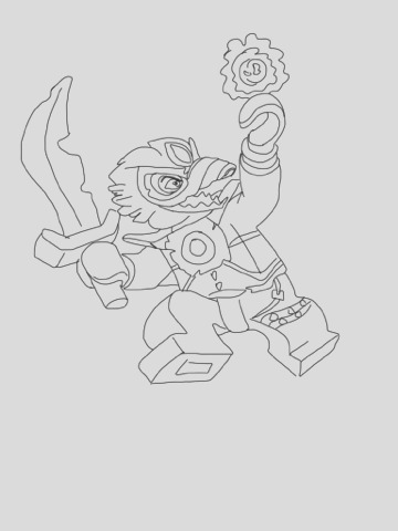 lego chima coloring pages