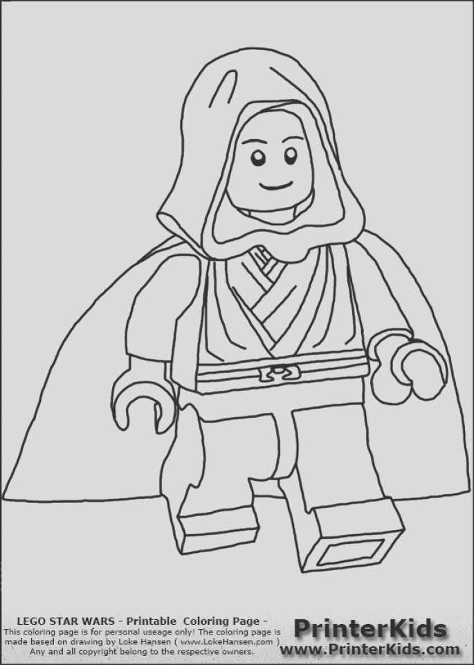 printable lego star wars coloring pages online