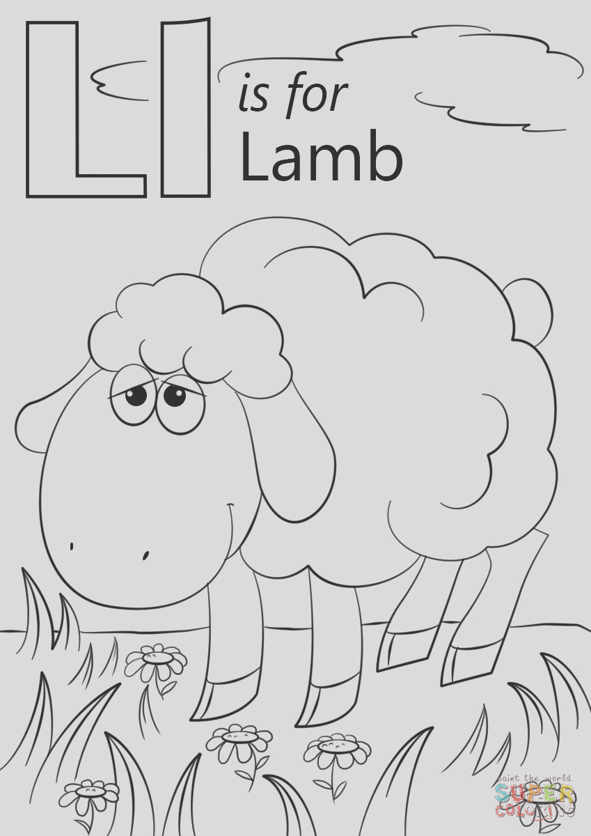 letter l is for lamb