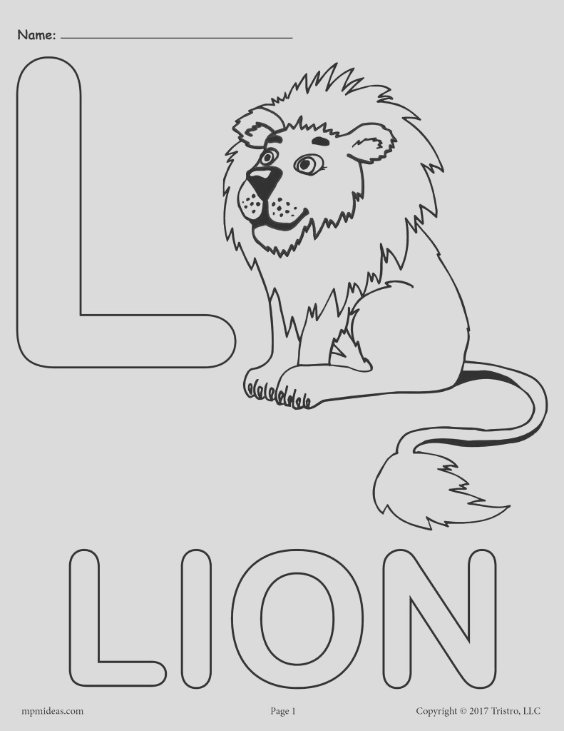 letter l alphabet coloring pages 3 free printable versions a7487