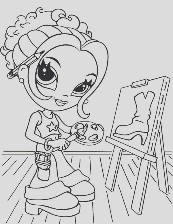 lisa franks coloring pages 3