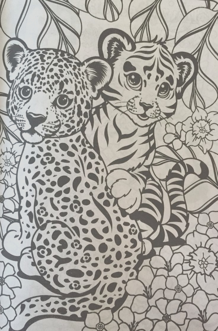 lisa frank coloring books
