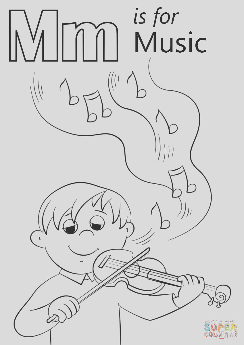 letter m is for music
