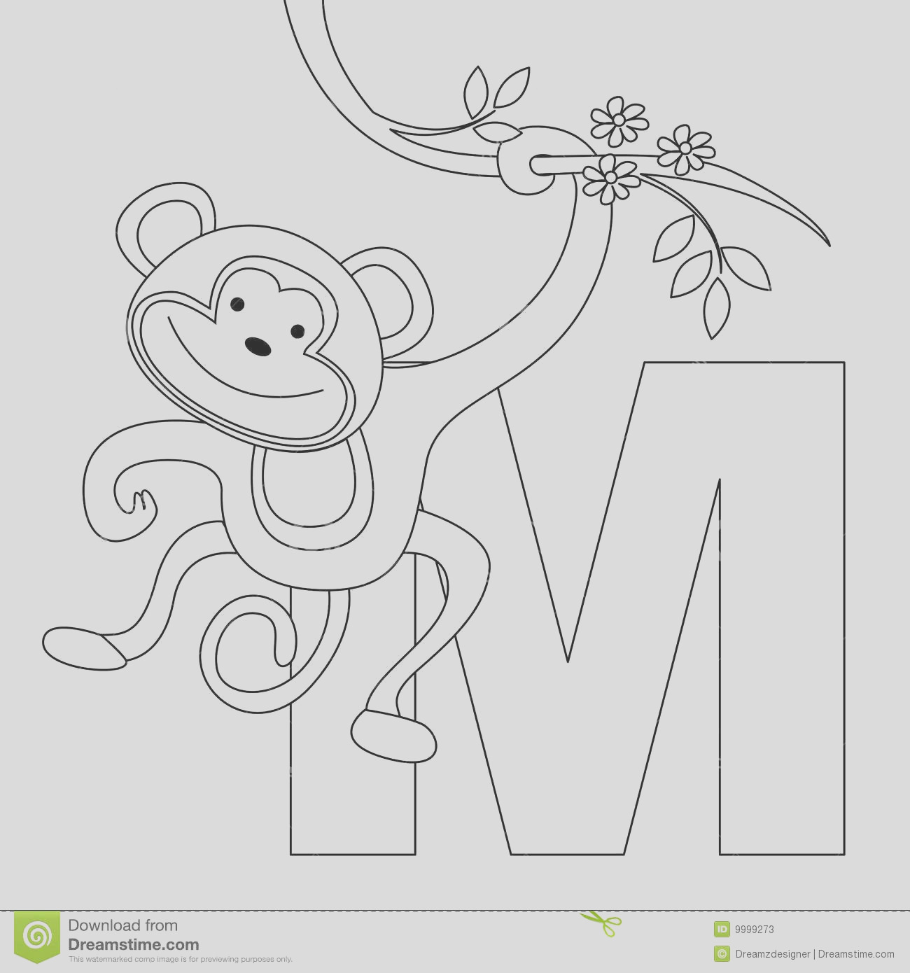 free letter m coloring pages for preschool 4