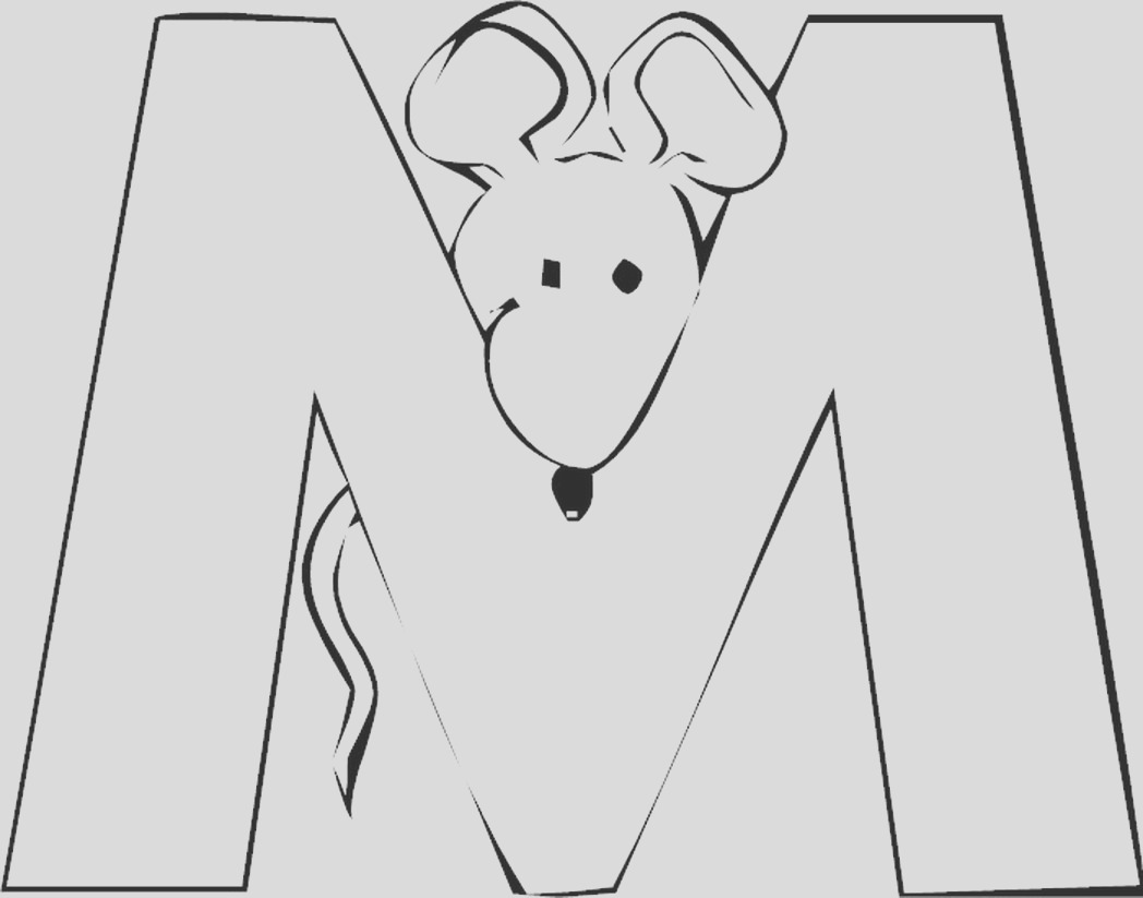 free letter m coloring pages for preschool 16