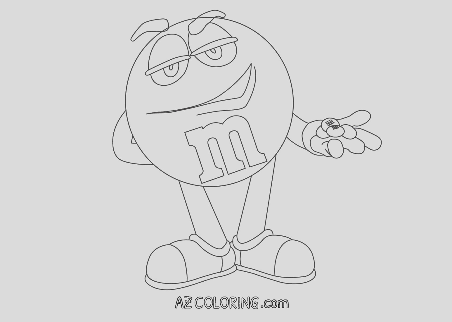 mm coloring page