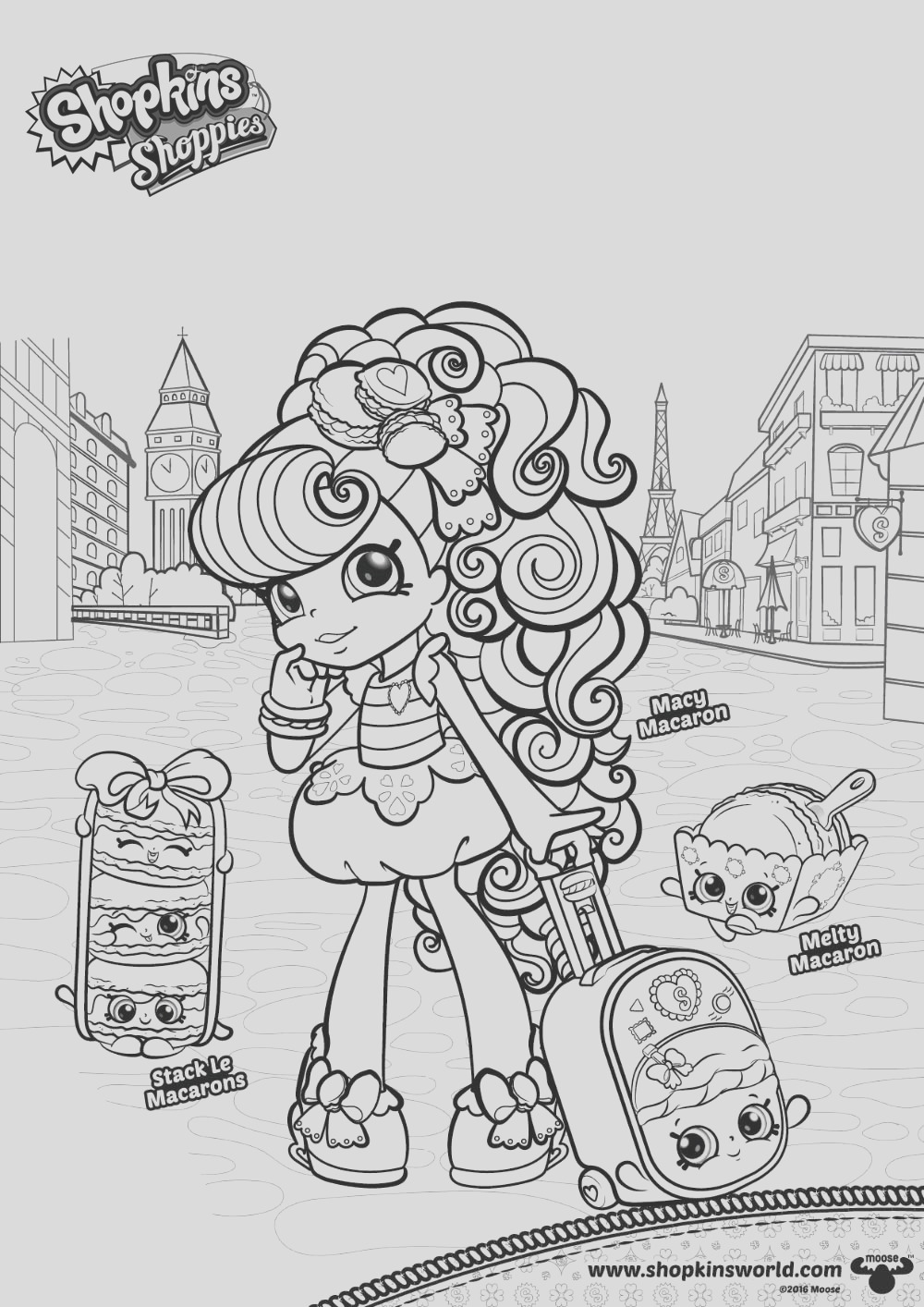 macaron coloring pages sketch templates