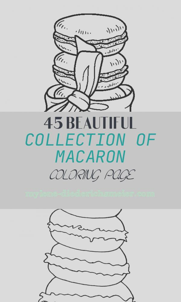 Macaron Coloring Page Lovely Macarons Coloring Page Coloringcrew