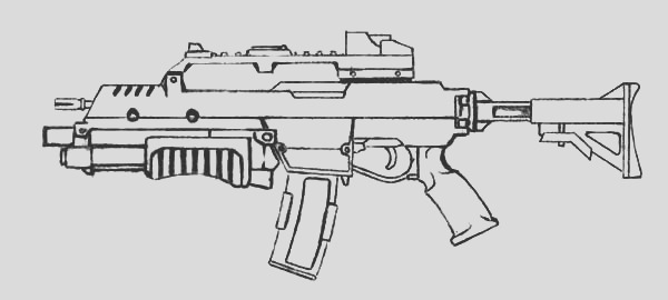 assault rifle coloring