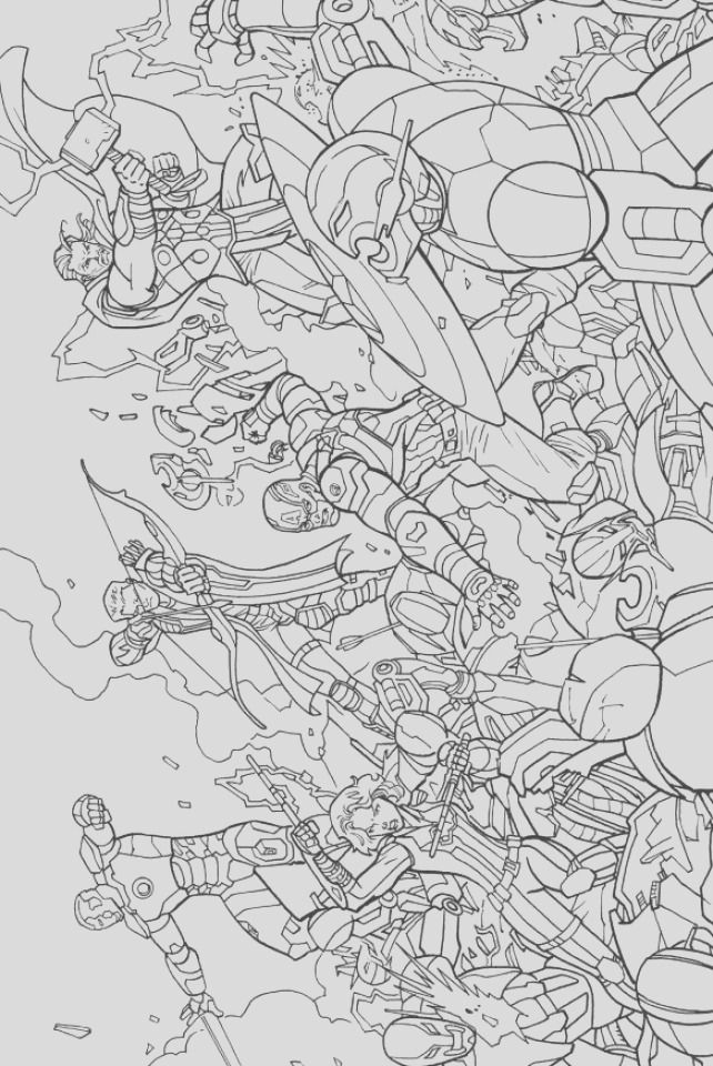 avengers coloring pages marvel superheroes printable