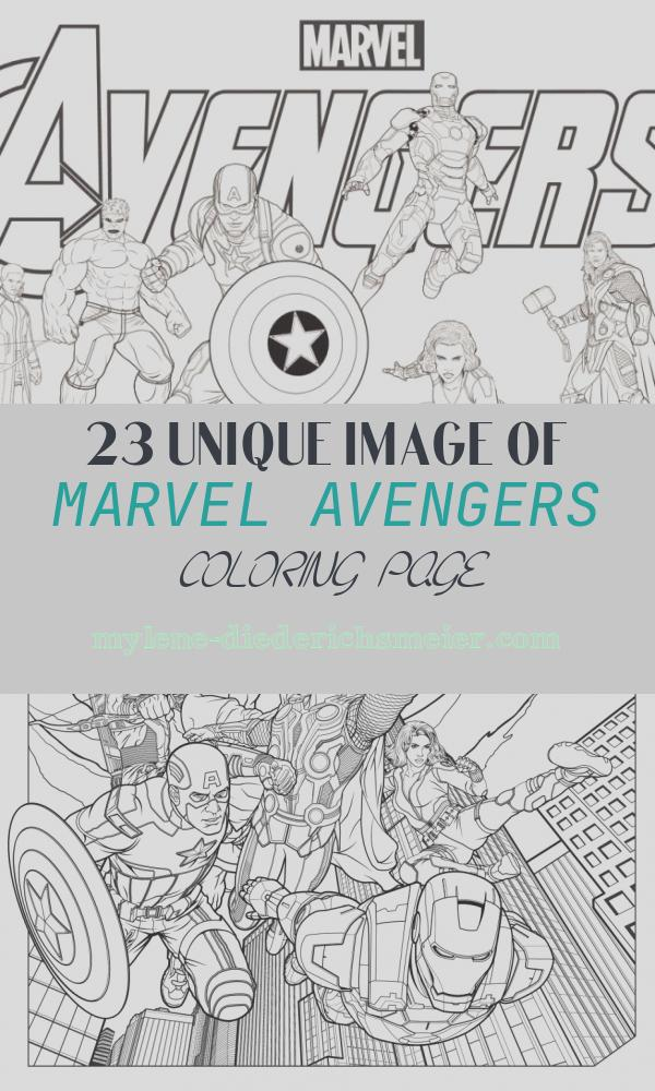 Marvel Avengers Coloring Page Inspirational Avengers Coloring Pages Best Coloring Pages for Kids