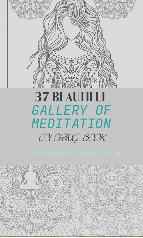 Meditation Coloring Book Beautiful Yoga and Meditation Coloring Book for Adults with Yoga