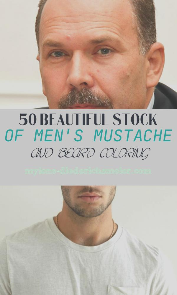 Men's Mustache and Beard Coloring Unique Mikhail Men