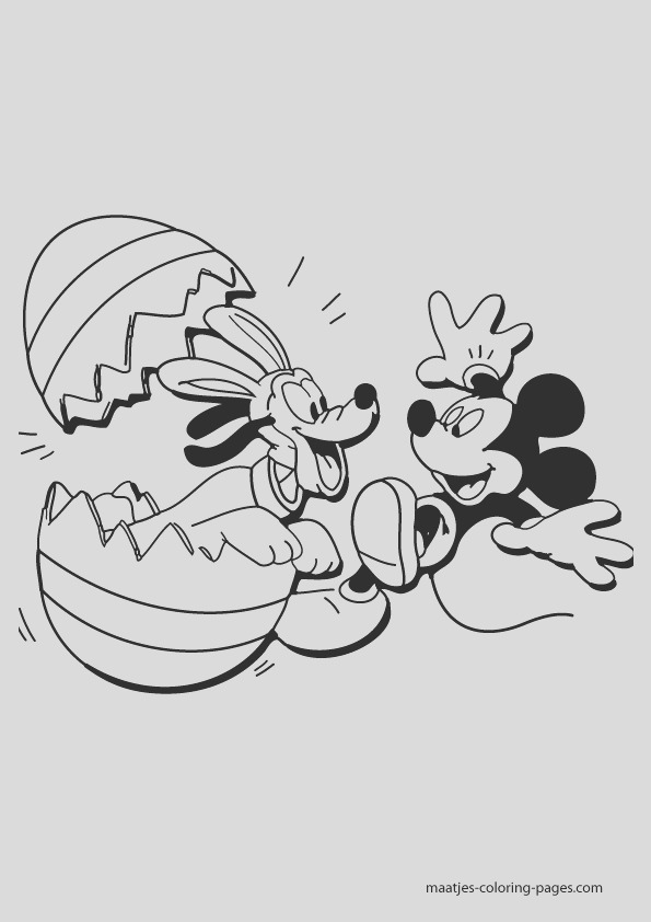 disney easter coloring pages 004