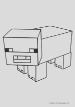 minecraft coloring pages overview 02