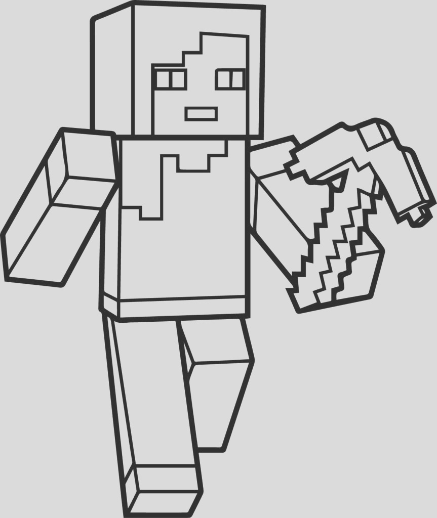 minecraft skeleton tamed wolf coloring pages sketch templates