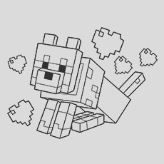 minecraft coloring pages