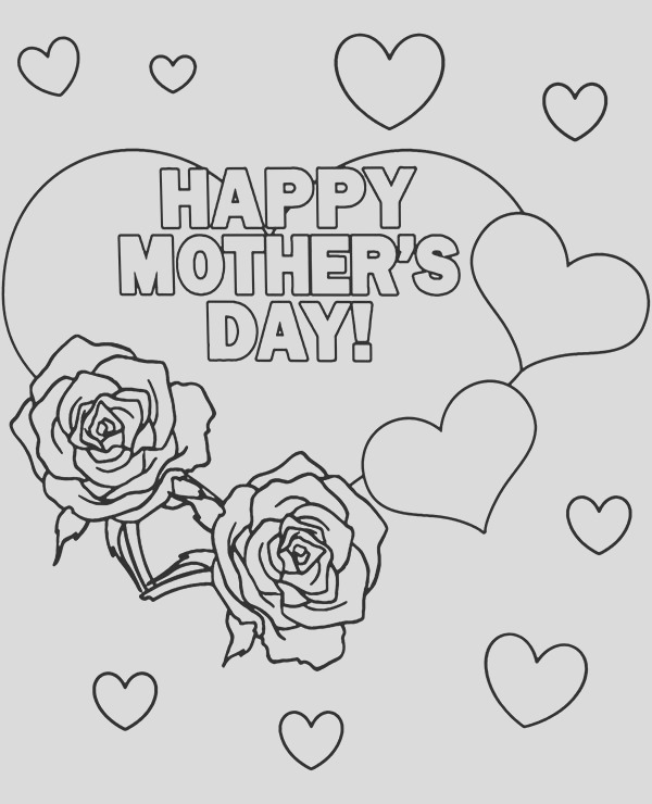 happy mothers day card to print