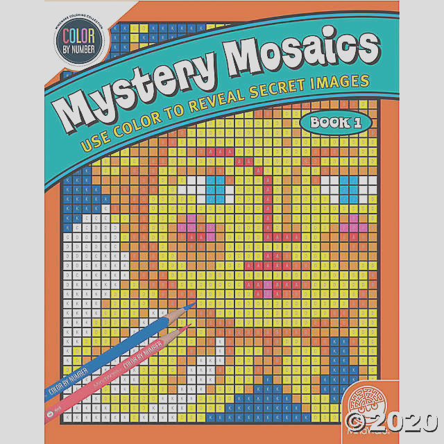 color by number mystery mosaics book 1 a2 fltr