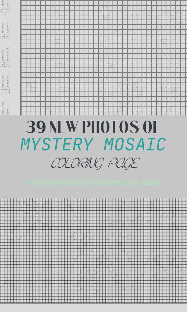 Mystery Mosaic Coloring Page Best Of 5 Best Of Mystery Mosaics Printables Mystery