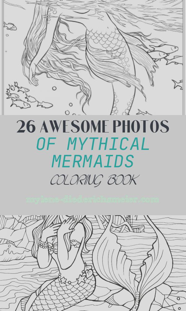 Mythical Mermaids Coloring Book Luxury Best Mermaid Coloring Pages & Coloring Books Cleverpedia