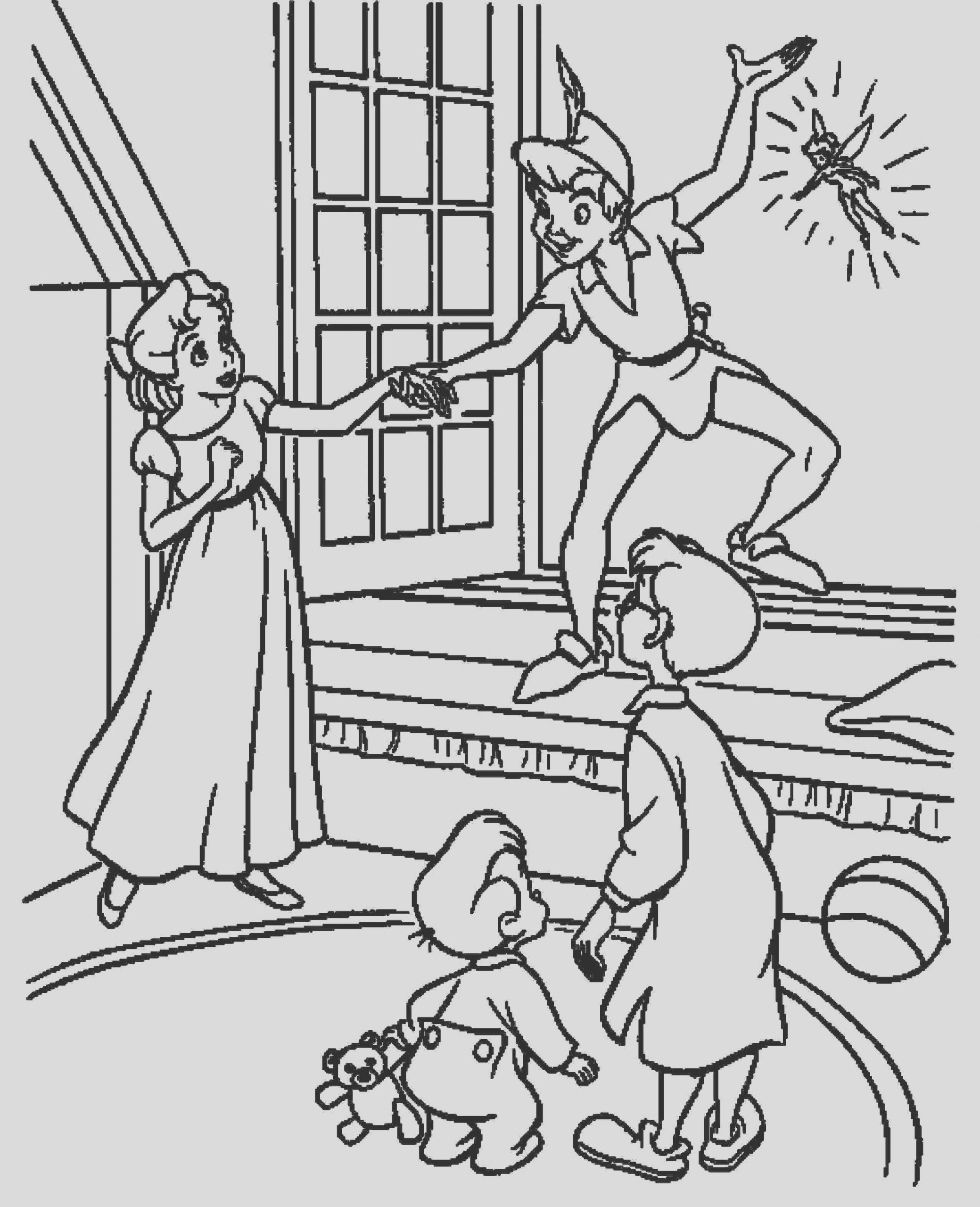 fun peter pan coloring pages ed free