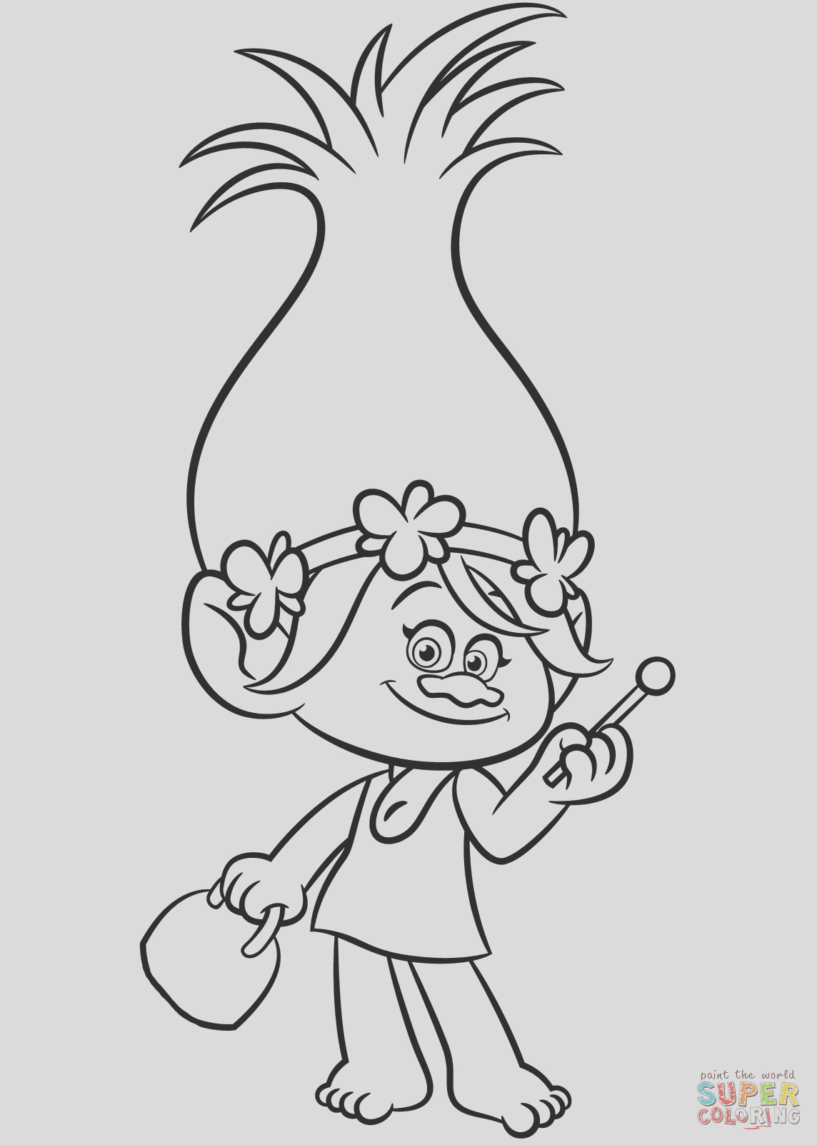 poppy from trolls 0