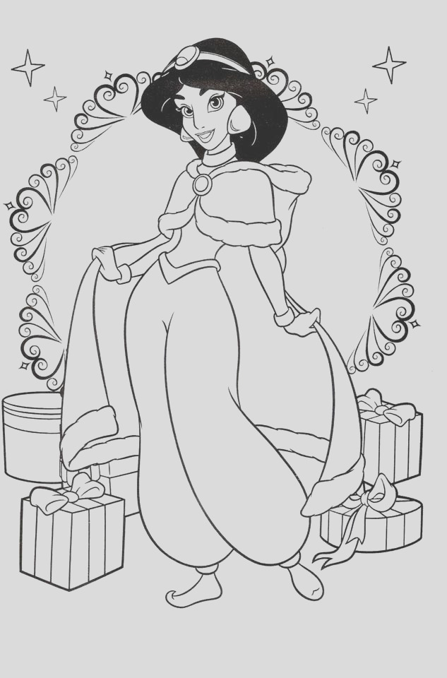 princess jasmine coloring pages