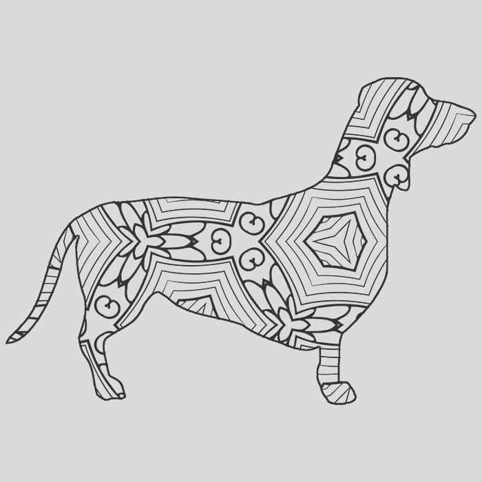 30 free coloring pages geometric animal coloring book just